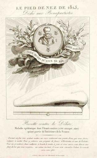 Le pied de nez de 1815 dédié aux Bonapartistes_0