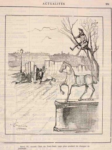 Henri IV et le cheval de bronze (titre factice)_0