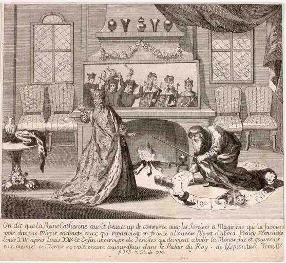 La reine Catherine et le sorcier (titre factice)_0