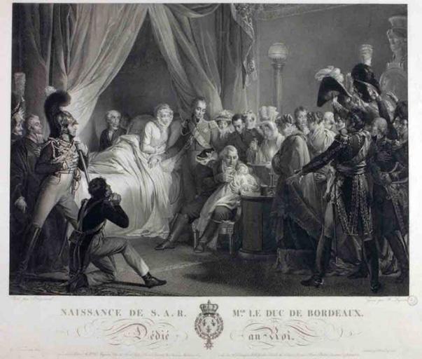 Naissance de S.A.R Mgr le Duc de Bordeaux