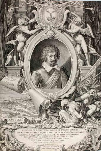 Charles de Longueval, comte de Busquoy (titre traduit) ; Carolus de Longueval comes de Buquoy (titre d'origine)_0