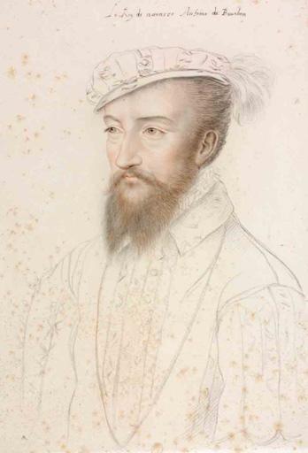 Le Roy de Navarre Antoine de Bourbon (titre inscrit)