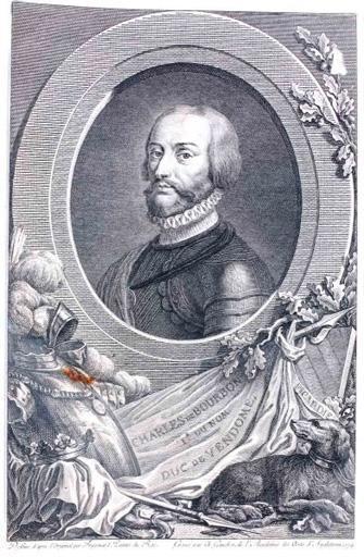 Charles de Bourbon Ier du nom, duc de Vendôme (titre inscrit)