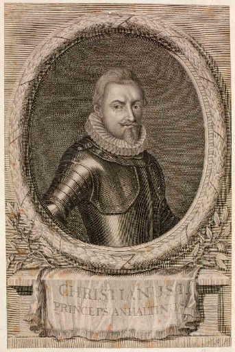 Christian prince d'Anhalt (titre traduit) ; Christianusi princeps Anhaltinus (titre d'origine)_0