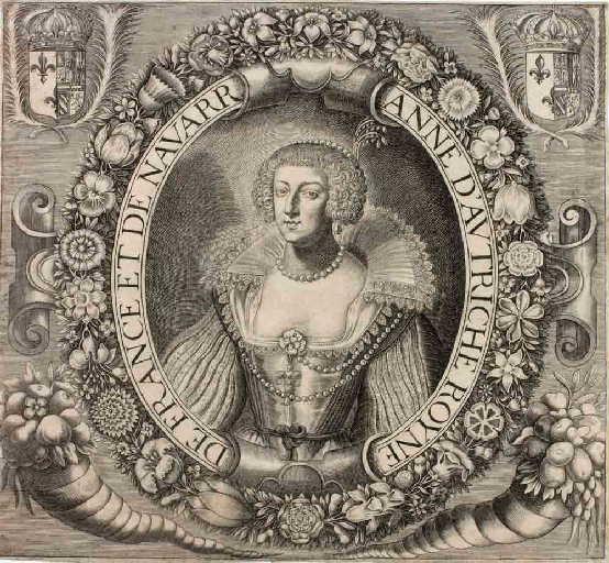 Anne d'Autriche Royne de France et de Navarre (titre inscrit)_0