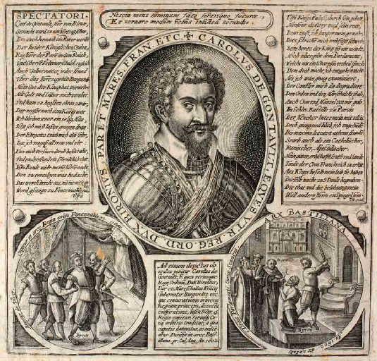 Charles de Gontaut-Biron en buste