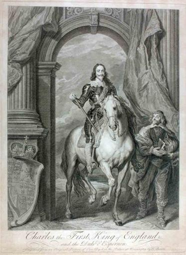 Charles Ier d'Angleterre et le duc d'Epernon (titre traduit) ; Charles the First, King of England And the duke d'Epernon (titre d'origine)_0