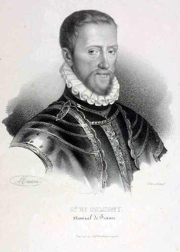 Gd de Coligny, Amiral de France (il s'agit de Gaspard II de Coligny)_0