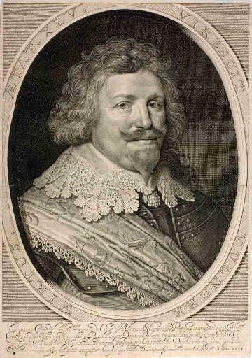 Gaspard III de Coligny âgé de 45 ans