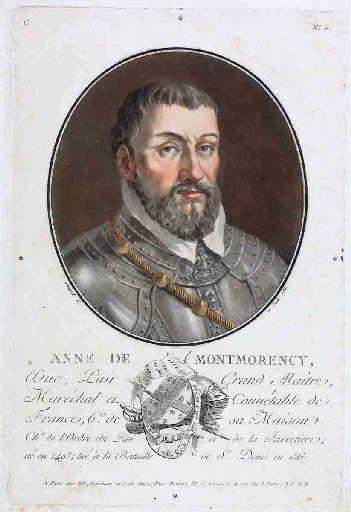 Portrait d'Anne de Montmorency en buste_0