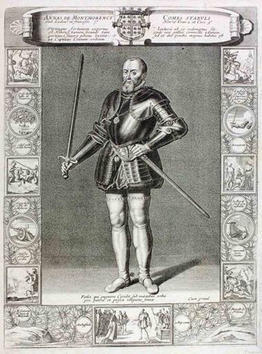 Anne de Montmorency en pied (titre factice) ; Annas De Montmorency comes stabuli' (titre inscrit)_0