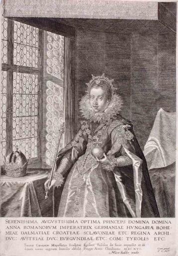 L'Impératrice Anne, épouse de Mathias_0