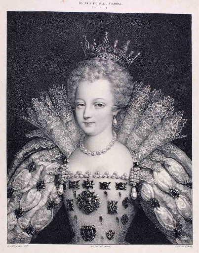 Marie Stuart à la taille (d'après)_0