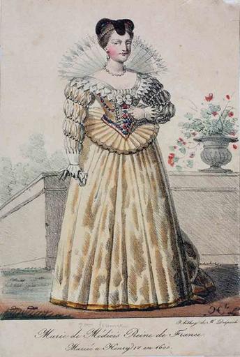 Marie de Médicis Reine de France (titre inscrit)_0