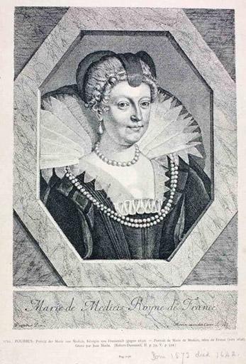 Marie de Médicis Royne de France (titre inscrit)_0