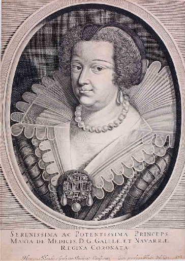 Portrait de Marie de Médicis en buste_0