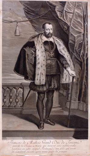 François Ier de Médicis grand duc de Toscane (titre inscrit)_0