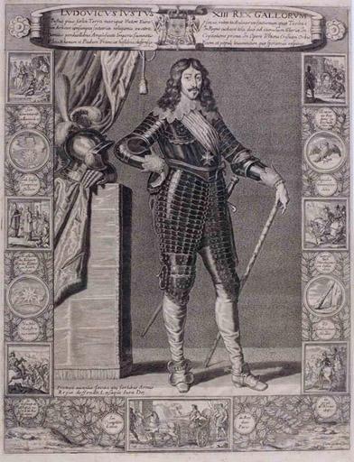 Louis XIII en pied (titre factice)