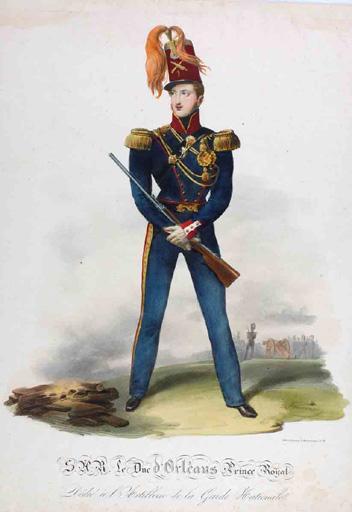 S.A.R le Duc d'Orléans, prince royal (titre inscrit)_0
