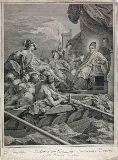 Louis XIII nomme St Vincent de Paul aumônier (des galères)_0