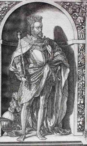 Philippe II d'Espagne en pied