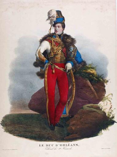 Le duc d'Orléans, colonel du 1er hussards (titre inscrit)_0