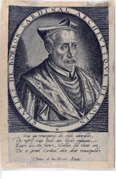 Charles, cardinal de Bourbon, archevêque de Rouen_0