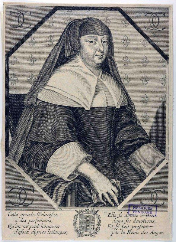Charlotte Marguerite de Montmorency à mi-corps_0