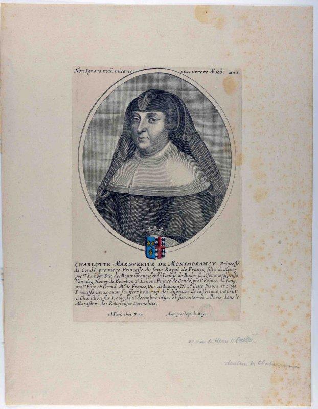 Charlotte Marguerite de Montmorency en buste_0