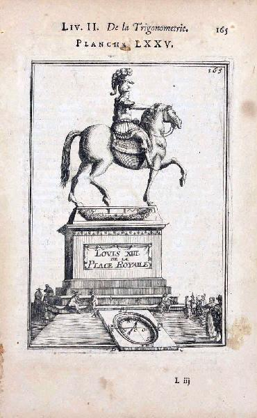 La Géométrie pratique : Louis XIII de la Place Royalle