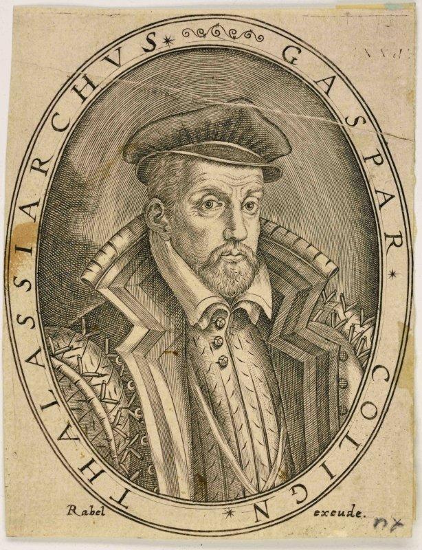 Gaspard de Coligny, Amiral de France (extrait d'une suite de portraits de la cour de France, 1583)_0