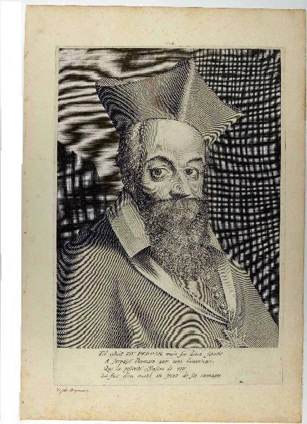 LASNE Michel (graveur) : Jacques Davy, cardinal du Perron