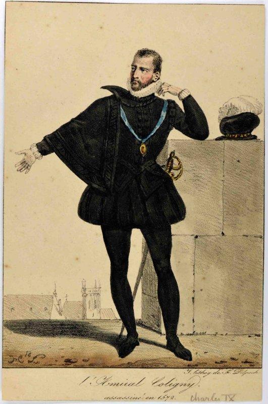 L'Amiral Coligny assassiné en 1572_0