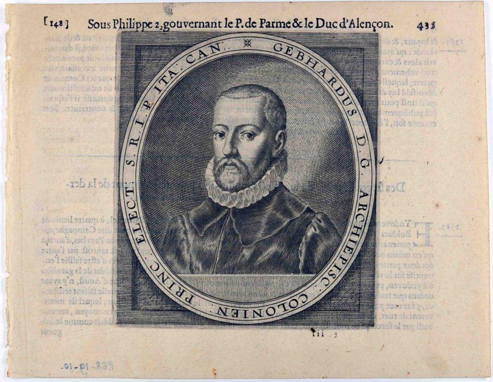 anonyme (graveur), COLIN Michel (éditeur) : Gebhard, archevêque de Cologne