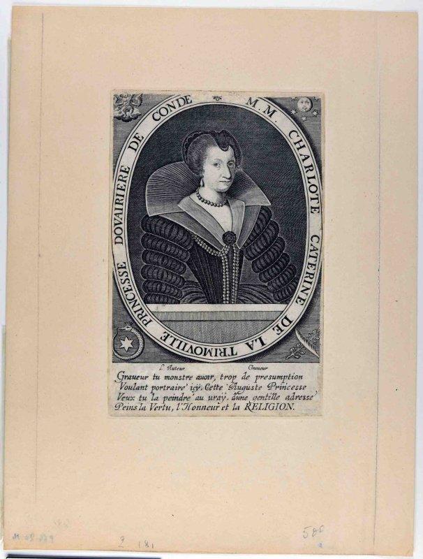 Charlotte Catherine de la Trémoille (titre inscrit)_0