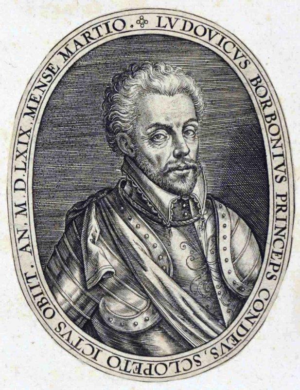 WIERIX Jérôme (graveur) : Louis I de Bourbon prince de Condé