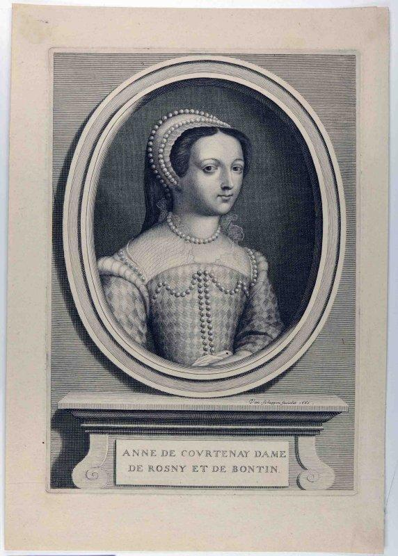 Anne de Courtenay dame de Rosny et de Bontin_0