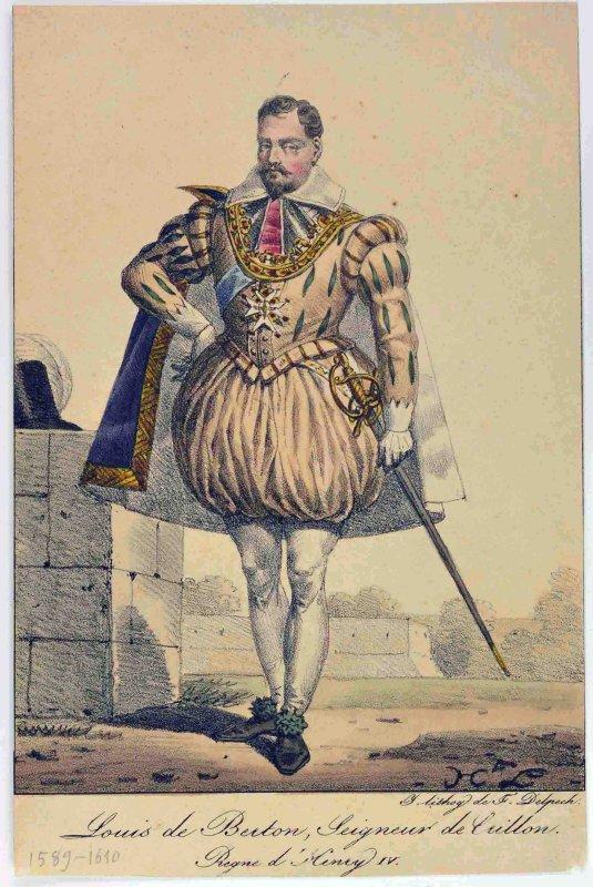 LECOMTE Hippolyte (dessinateur), DELPECH François Séraphin (éditeur, lithographe) : Crillon