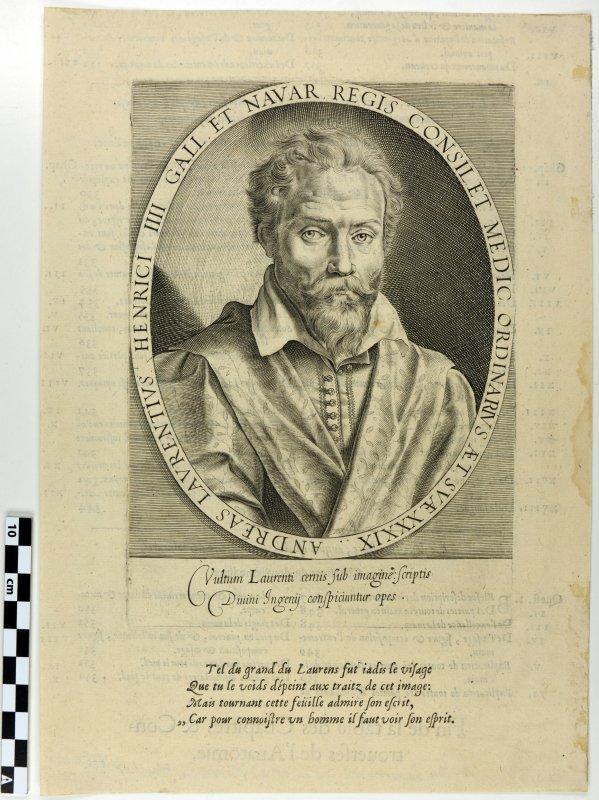 André du Laurens en buste_0