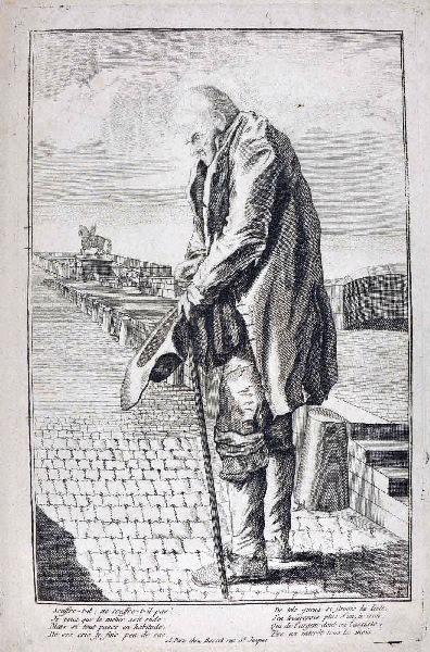 Mendiant sur le Pont Neuf_0