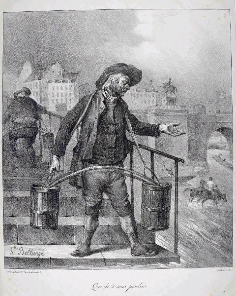 Le porteur d'eau à Paris au XIXe siècle_0