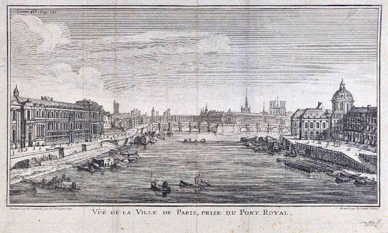 Vue de la ville de Paris, prise du Pont Royal (titre inscrit)_0