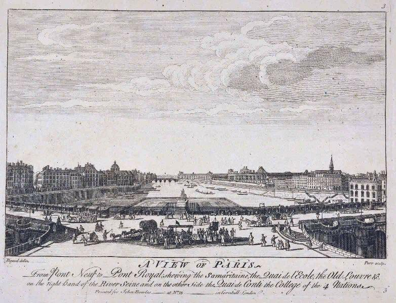 Une vue de Paris (titre traduit) ; A view of Paris (titre d'origine)