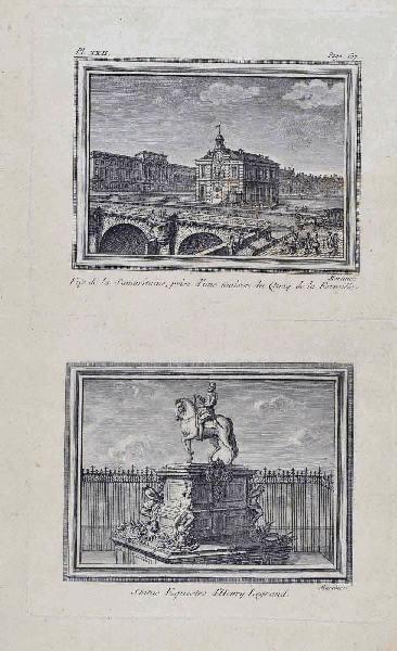 La statue équestre d'Henri IV et la Samaritaine_0