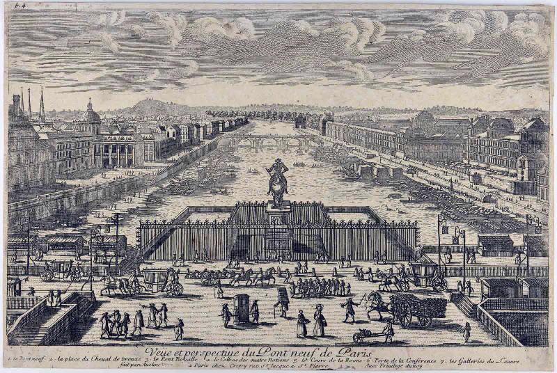 Veüe et perspective du Pont Neuf de Paris_0