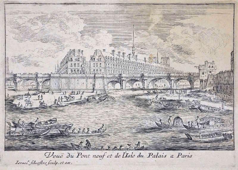 Le Pont-Neuf et la pointe de l'île de la Cité