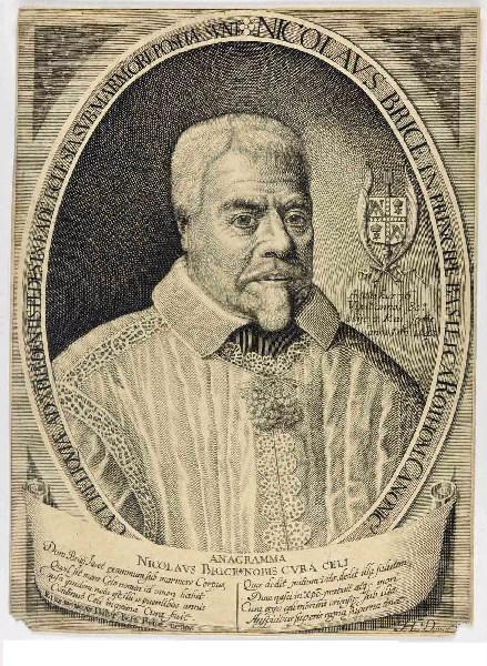 DAVID Jérôme (graveur), VAN DER BORCHT F (d'après, peintre) : Nicolas Brice (titre inscrit)