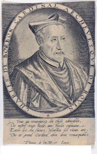 Charles de Bourbon, cardinal archevêque de Rouen