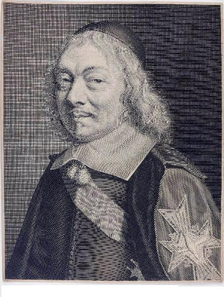 anonyme (graveur) : Henri-Auguste de Loménie, comte de Brienne
