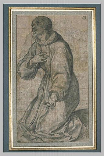 Saint François agenouillé